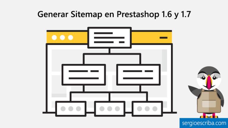 Generar Sitemap Prestashop 1.6 y 1.7