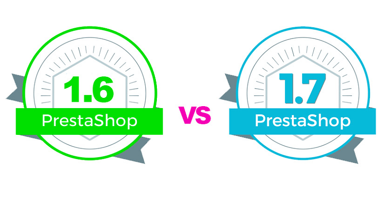 versiones 1.6 1.7 prestashop