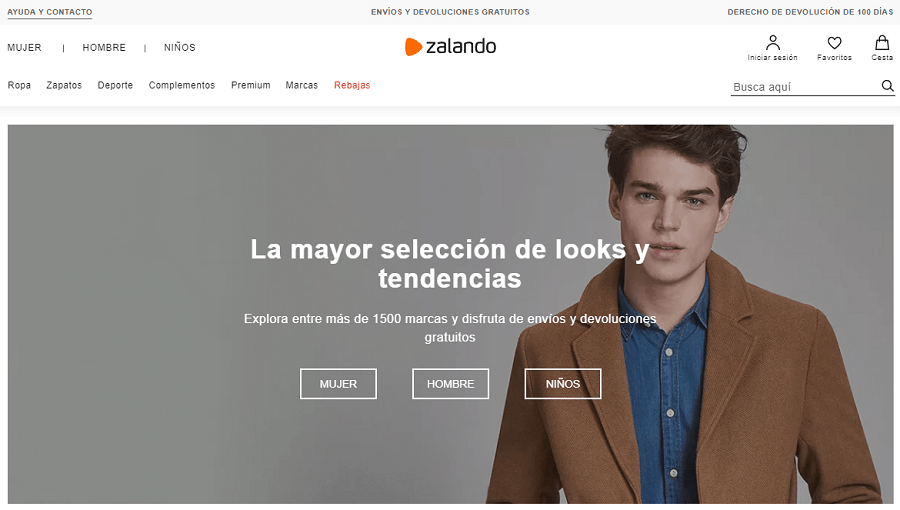 E-commerce Zalando