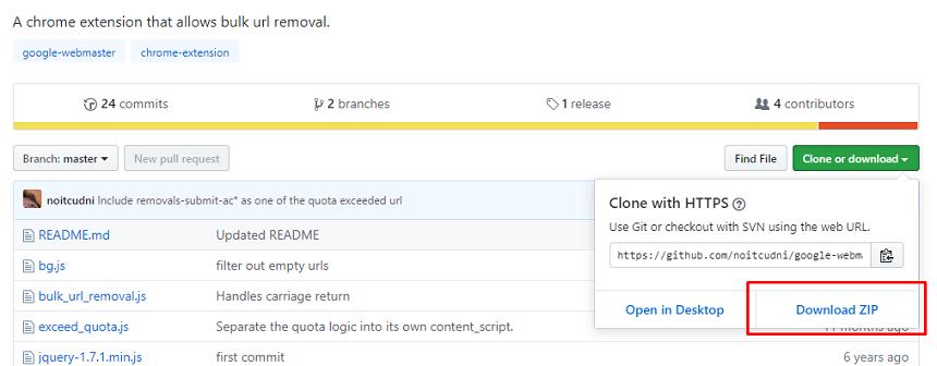 Desindexar URLs de forma masiva