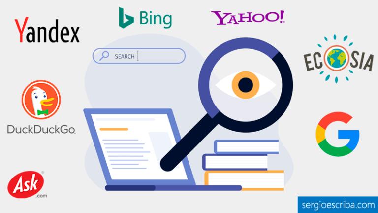 Listado de los mejores ejemplos de buscadores de Internet alternativos a Google