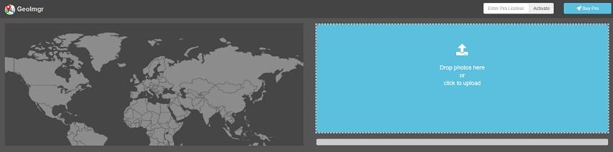 Geolocalizar imágenes con Geoimgr.com