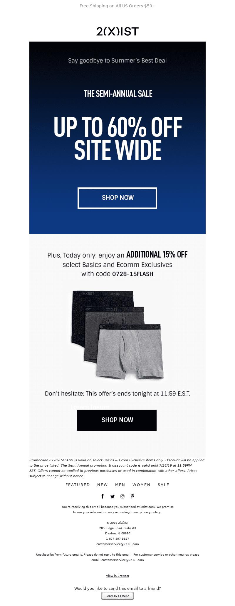 ejemplo email para reactivar usuarios desde su última interacción