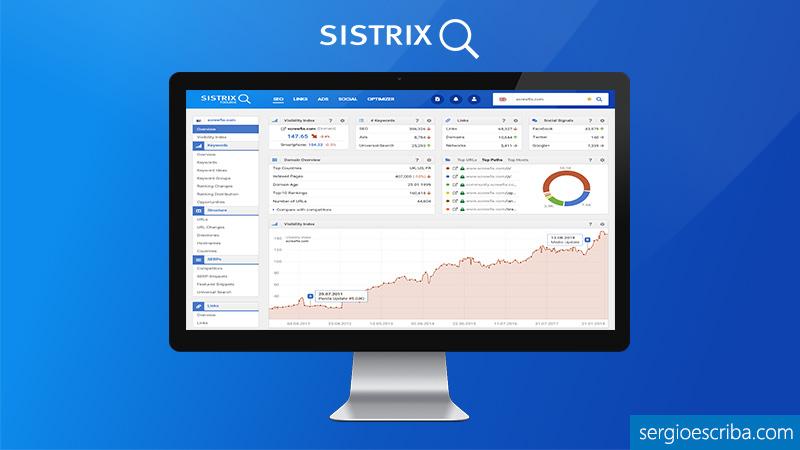 Tutorial de la herramienta Sistrix