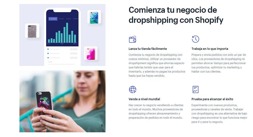 Crear tu negocio online con Shopify