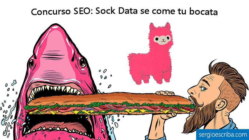 Sock Data se come tu bocata es el nuevo Concurso SEO