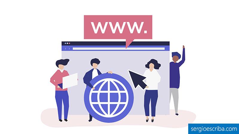 Tipos de dominios web que existen en el mercado